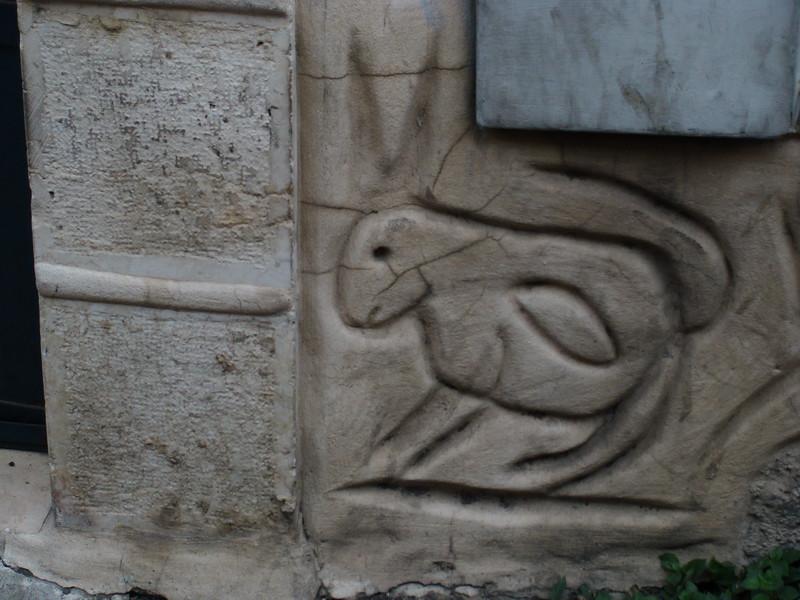 Rabbit Stone Wall Design