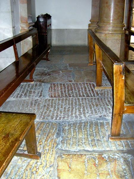 Old Chapel Floor