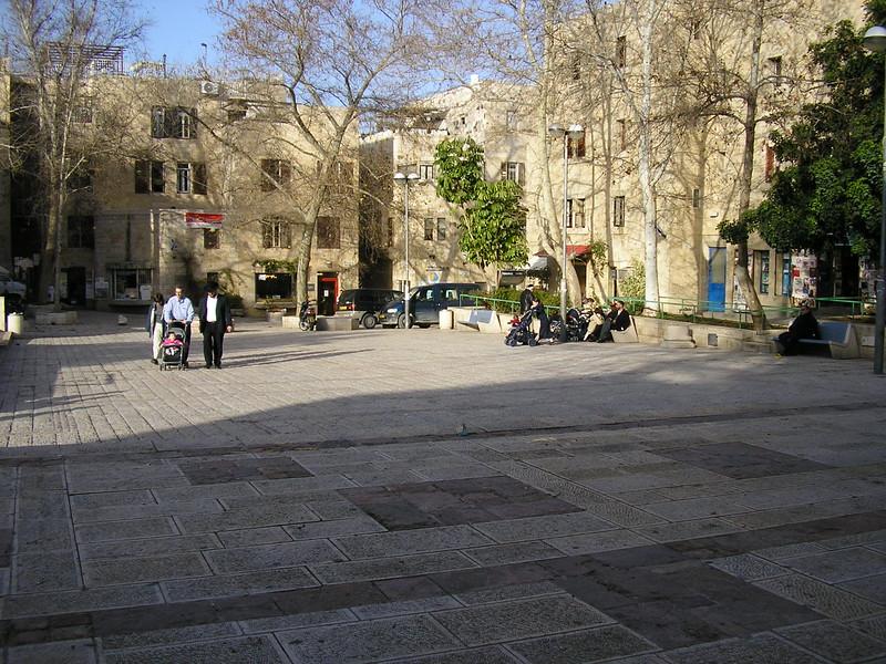 Plaza near Synagogue Haramban