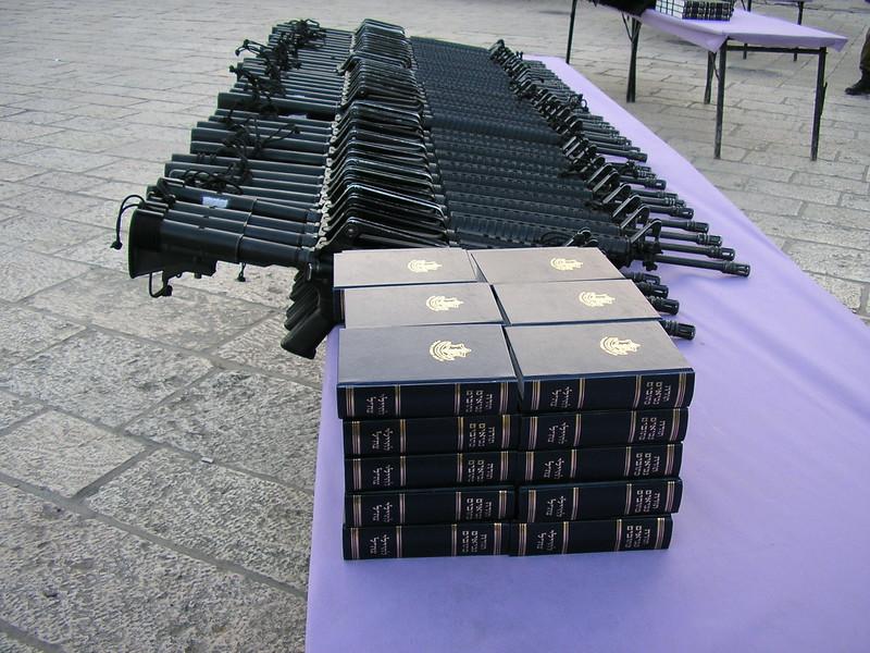 Rifles and Torahs