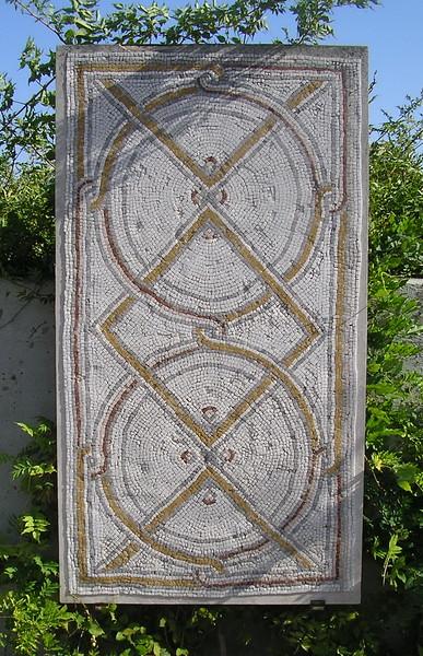 Mosaic Sumata Church Floor
