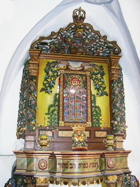 Inside Ashkenazi Ari Synagogue