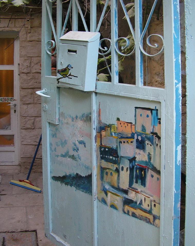 Gated Home Door