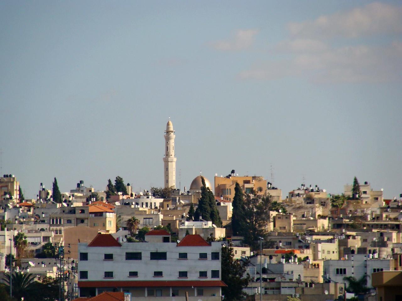 Palestinian City beyond the Wall