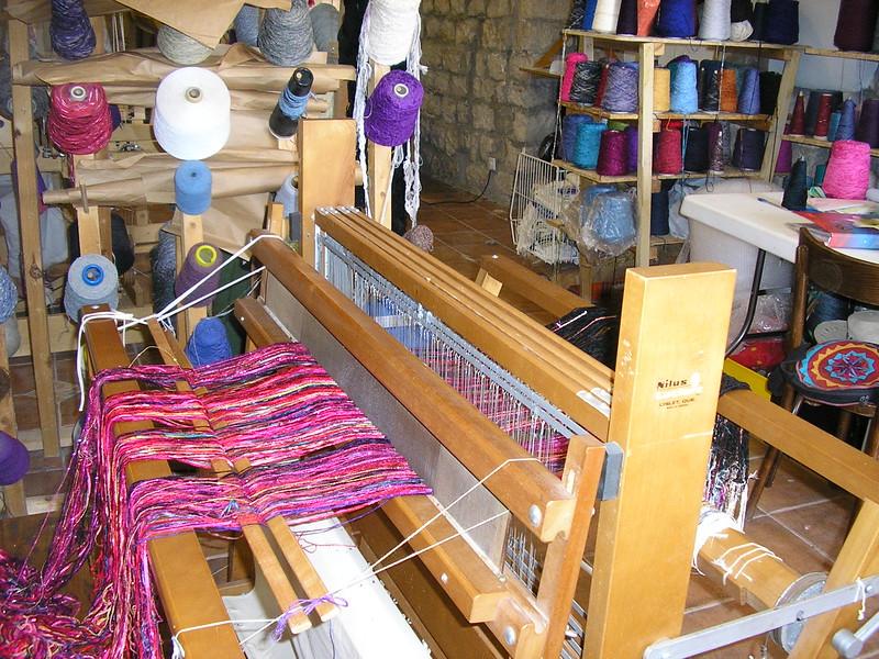 Loom in the Weaver's Shop