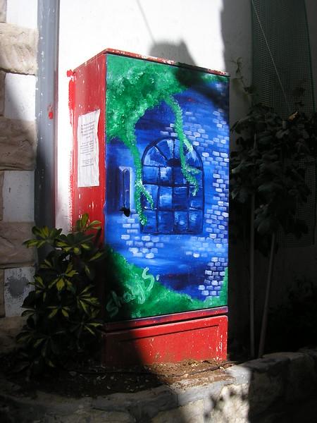 Decorated Utility Box