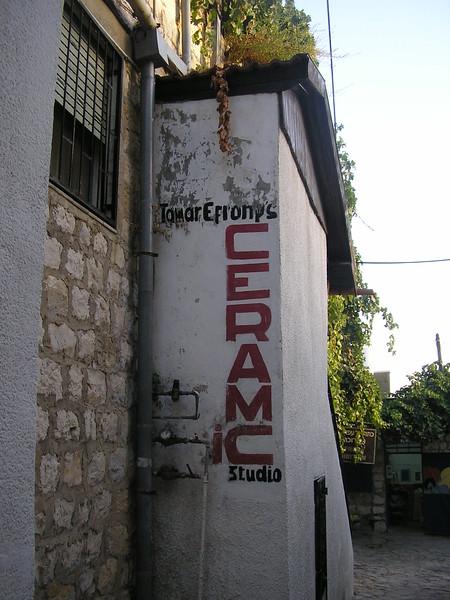 Tamar Efrony's Ceramic Studio