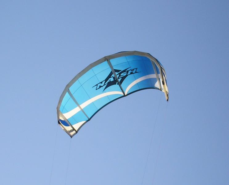 Blue Parasail