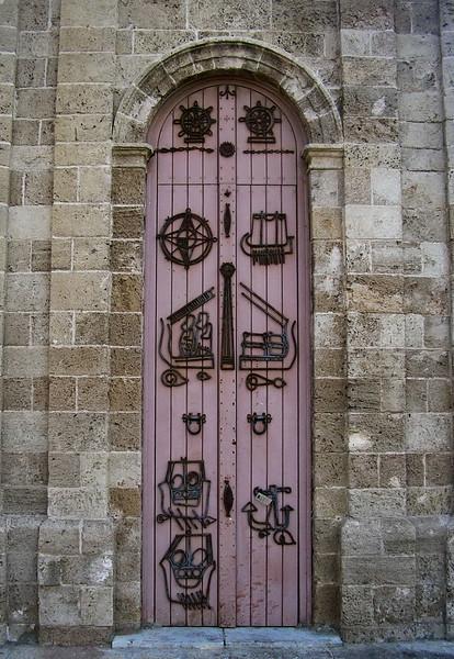 Clock Tower Door