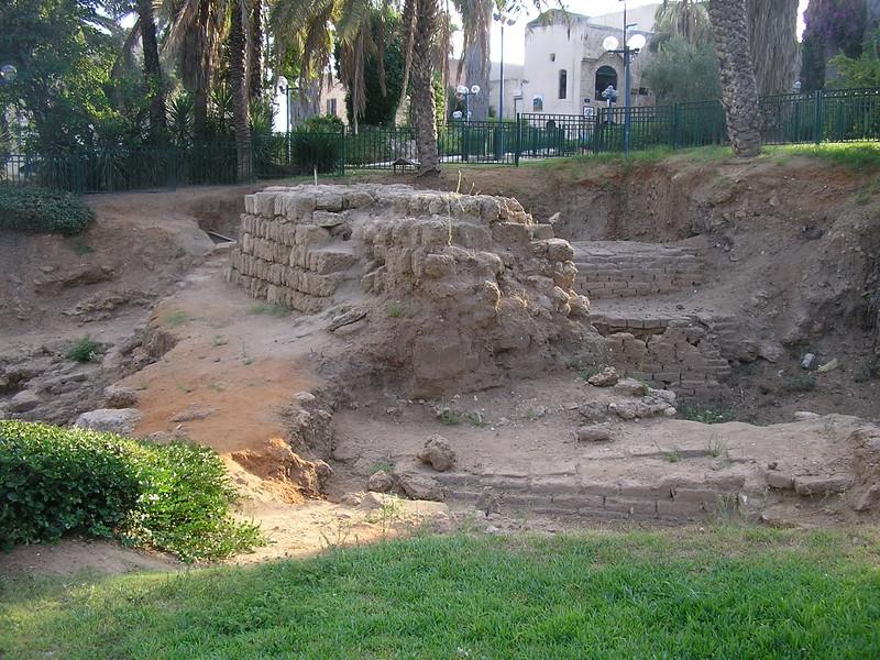 Tel Jaffa Excavation Site