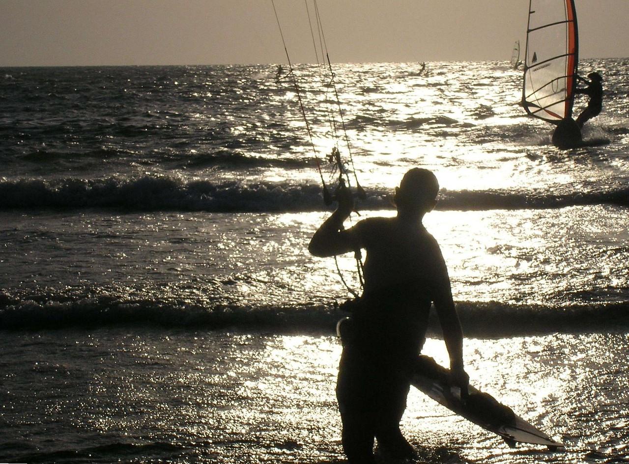 Parasailing at the Beach