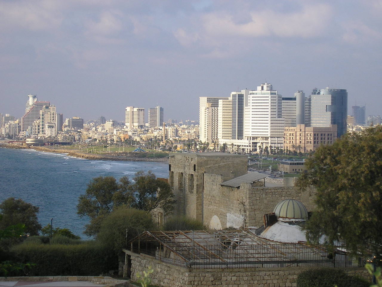 View of Tel Aviv from Old Jaffa