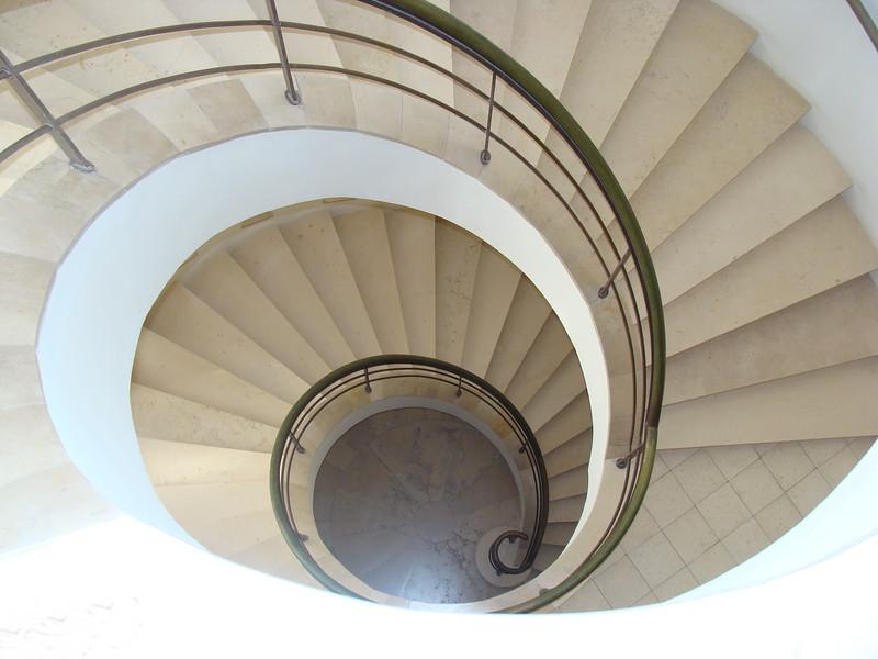 Spiral Staircase Descending