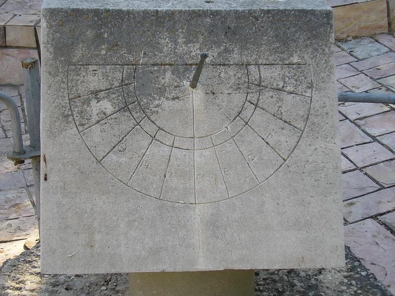Zeus Temple Sundial