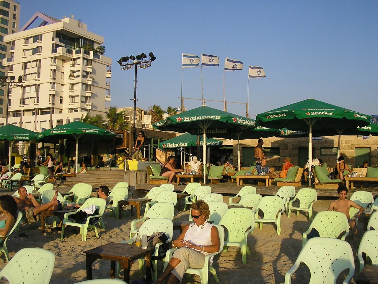Sun Worshipers at Bahama Beach