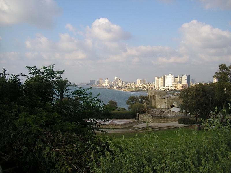 View of the Tel Aviv Skyline