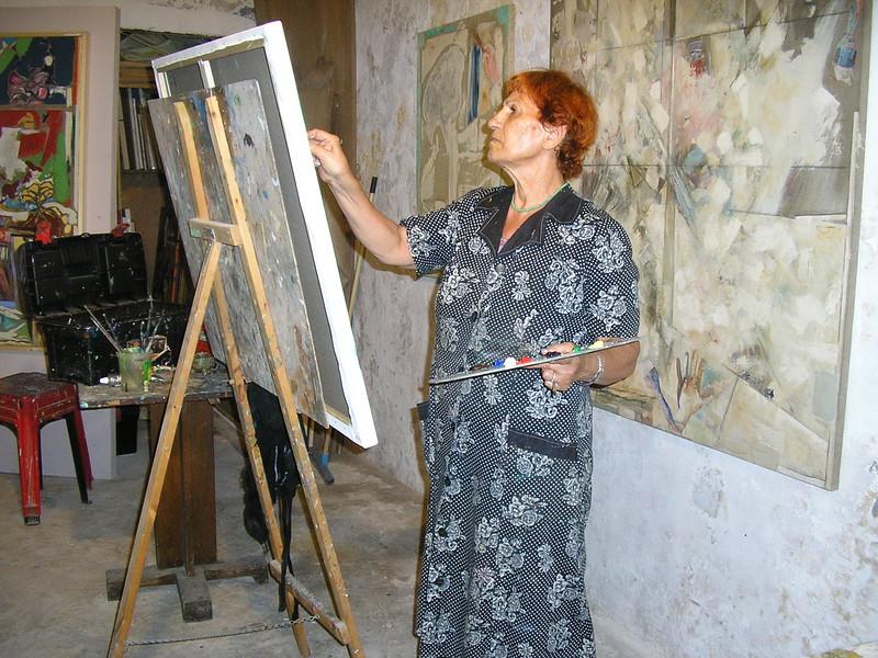 Student Artist at the Studio