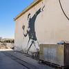 Man Throwing Flowers, Banksy