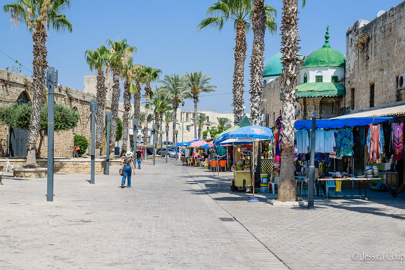 Main Street of Akko
