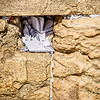 Prayers Left at the Western Wall