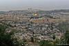 Cloudy View from Mount of Olives