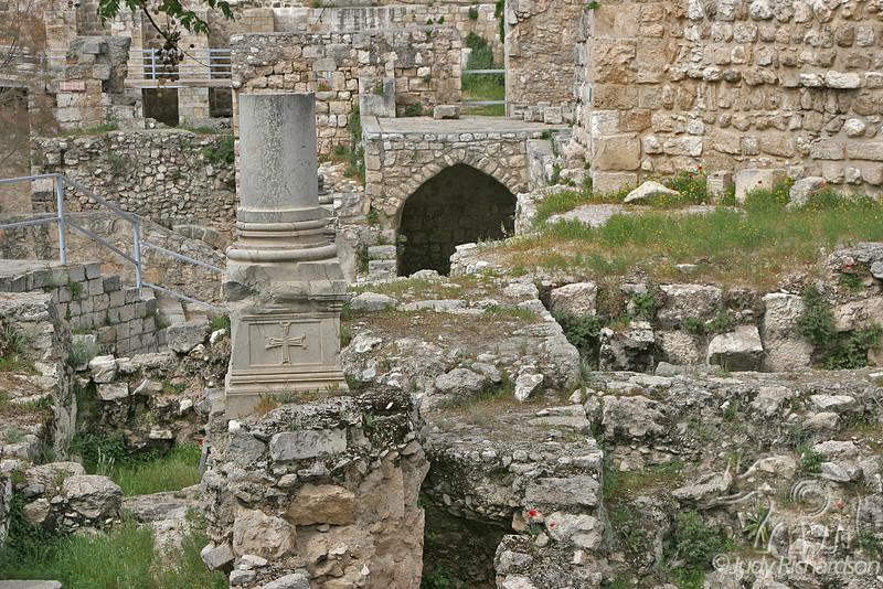 Bethesda Pool Ruins