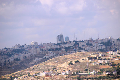 central Ramallah from Nebi Samuel