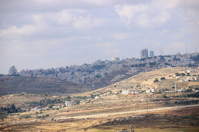 Ramallah from Nebi Samuel