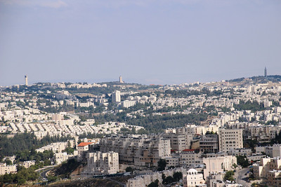 From nebi Samuel to Mt of Olives