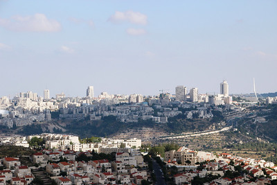 From Nebi Samuel to west Jerusalem