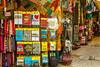 A street market along the Via Dolorosa in Jerusalem, Israel, Middle East.