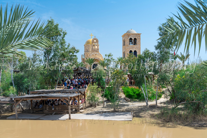 Bethany beyond the Jordan baptismal site, Israel, Middle East.