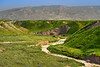 Green hills of the Jordan Valley in spring, Israel, Middle East.