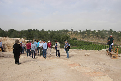 Lachish tiyul with French hill mob, Pesach 2014