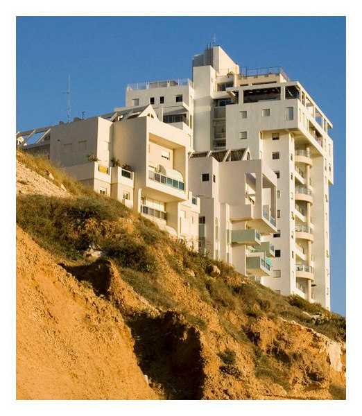Contrast. View from Bat Yam's beach.