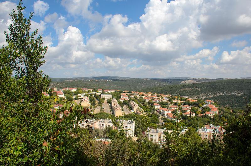 View from Maalot-Tarshiha