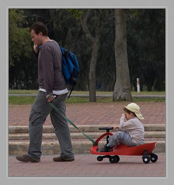 Walk in park.
