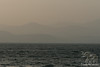 Haze at Dusk on Sea of Galilee~Looking toward Israel