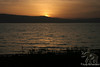 Sunset at Sea of Galilee