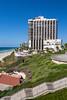 The Daniel Hotel and beach in Herzlyia, Tel Aviv, Israel, Middle East.