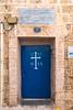 A doorway in the old city of Jaffa, Tel Aviv, Israel, Middle East.