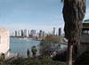 Skyline of Tel Aviv, Jaffa, Israel