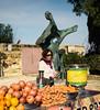 Thirsty Woman, Juice Stand, Jaffa, Israel