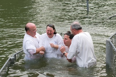 Baptism on the River Jordan