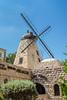 The Rehavia Windmill Restaurant in West Jerusalem, Israel, Middle East.