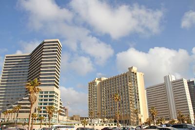 Our hotel in Tel Aviv
