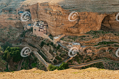 St George's Monastery in Wadi Qelt in the West Bank