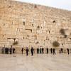 Men at the Wailing Wall