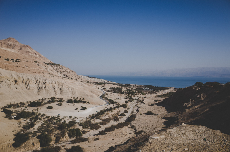 Blick aufs tote Meer