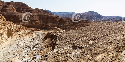 Incense Spice Route in the Makhtesh Ramon Crater in Israel